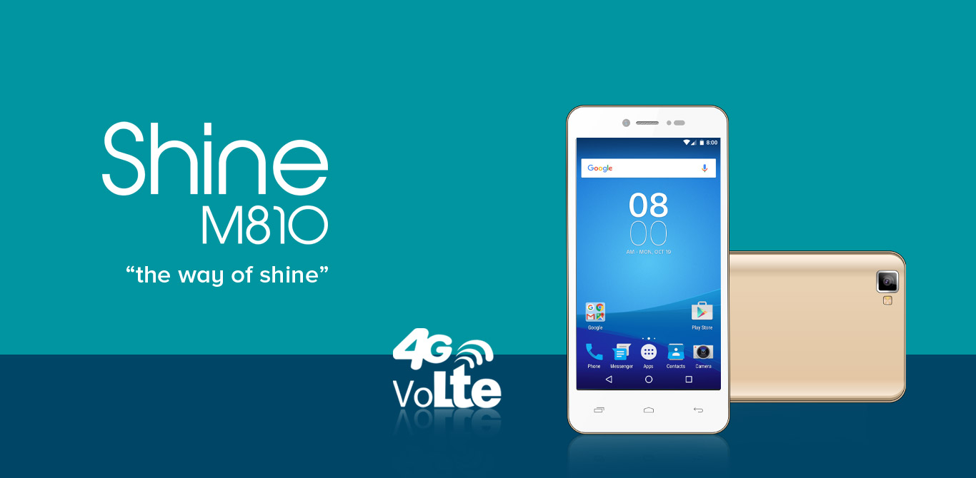 Shine m 810 Smartphone with 4G